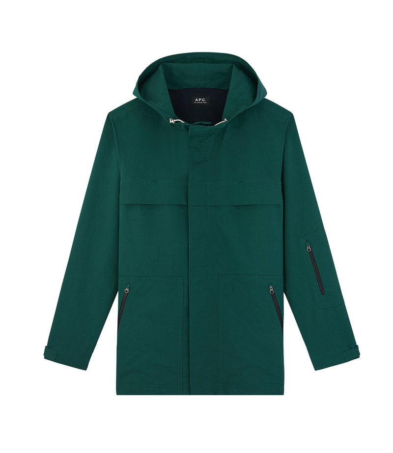 This is the Hike parka product item. Style KAG-1 is shown.