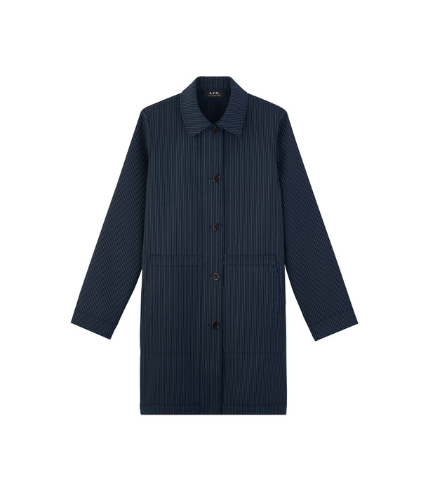 Double coat - IAK - Dark navy blue