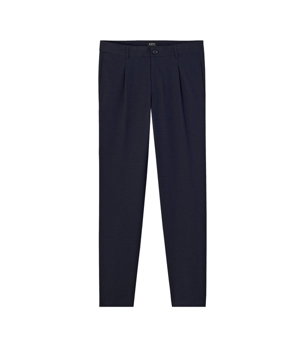 Florian pants - IAK - Dark navy blue