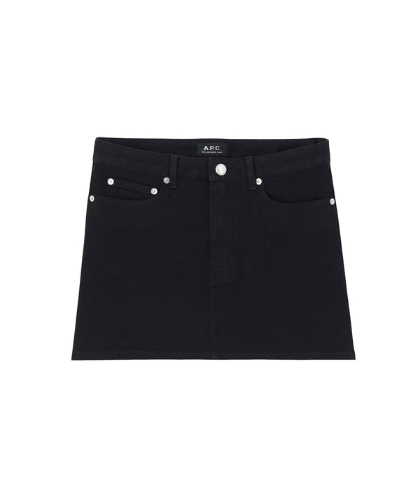 July skirt - LZA - Near black