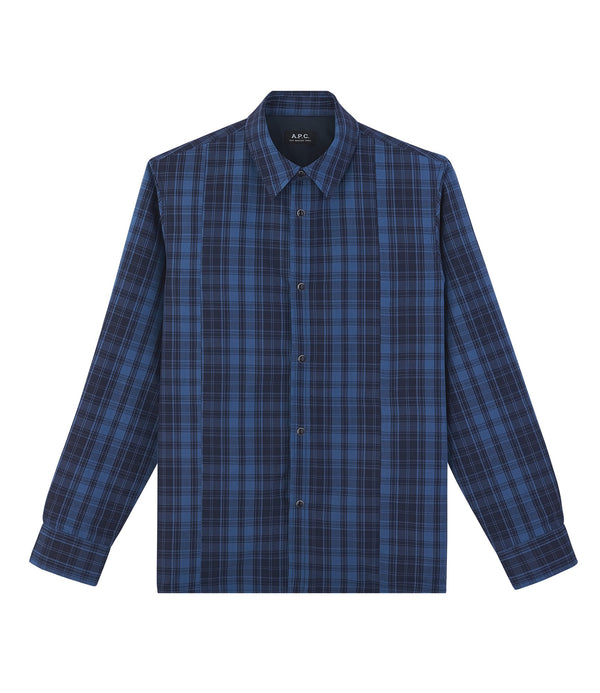 Unconventional overshirt - IAH - Dark blue