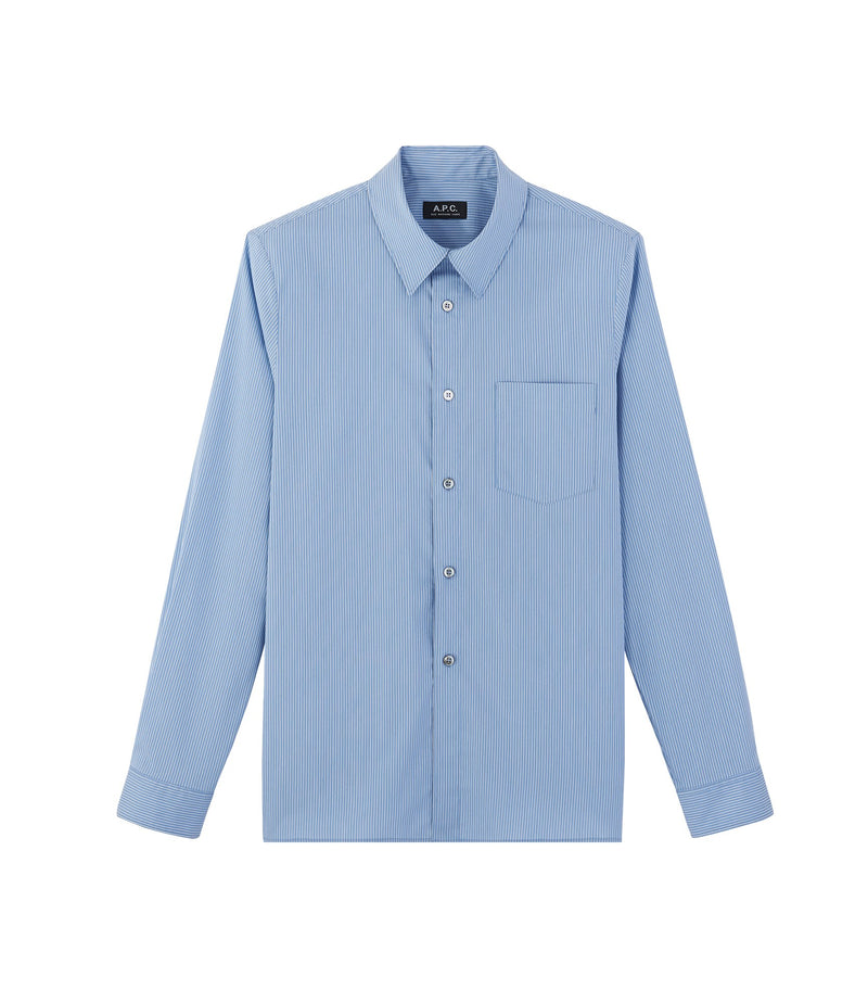 This is the Barthélémy shirt product item. Style IAA-1 is shown.