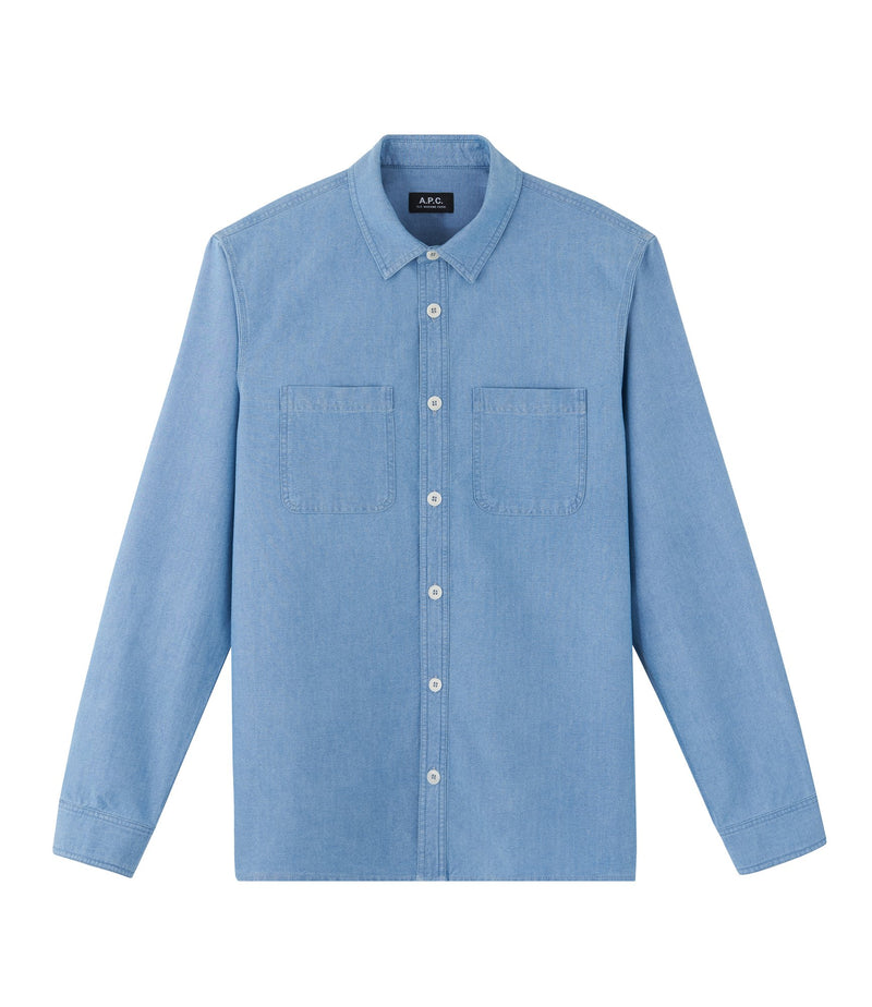 This is the David shirt product item. Style IAL-1 is shown.