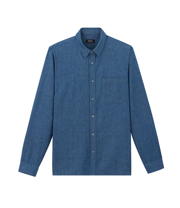 Georges shirt - IAA - Blue