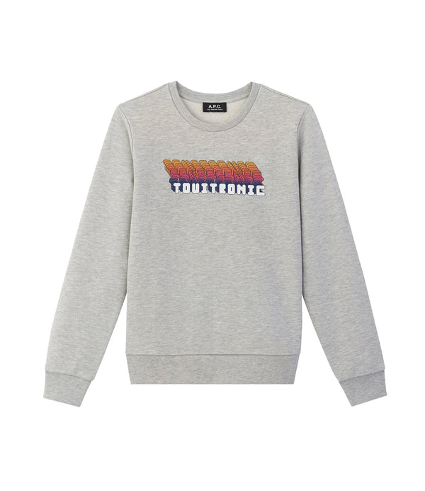 Electronic sweatshirt - PLA - Heathered gray