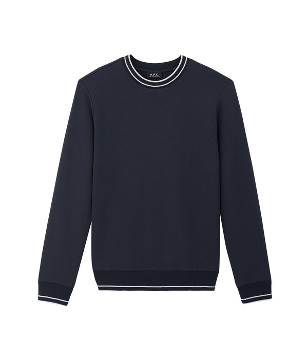 Break sweatshirt - IAJ - Navy blue