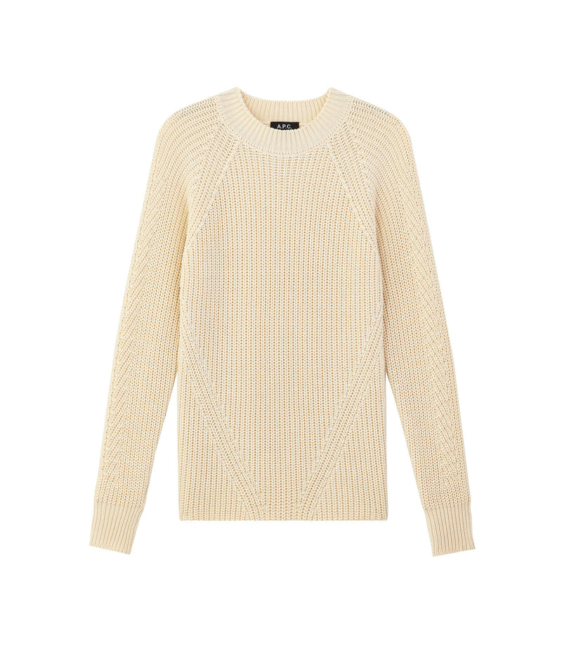 This is the Miyuki sweater product item. Style AAC-1 is shown.