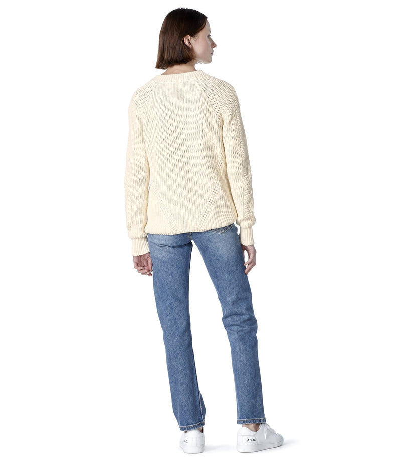This is the Miyuki sweater product item. Style AAC-3 is shown.