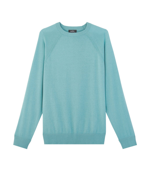 Donny sweater - IAD - Turquoise blue