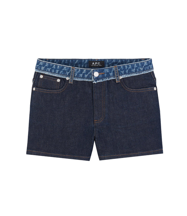 High Standard shorts - IAL - Stonewashed indigo