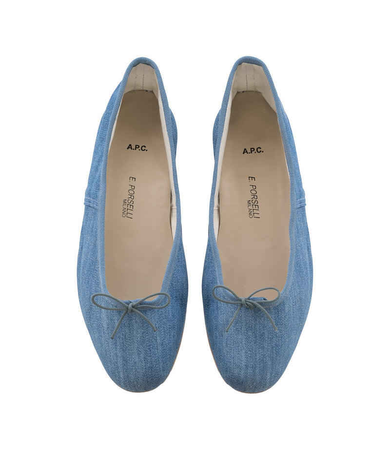 This is the Porselli ballet flats product item. Style IAB-3 is shown.