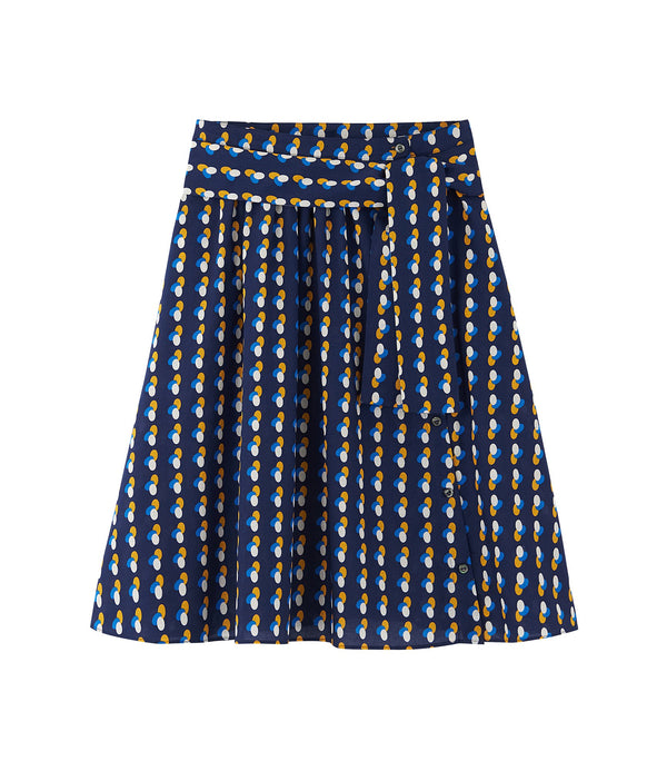 Gaîa skirt - IAJ - Navy blue