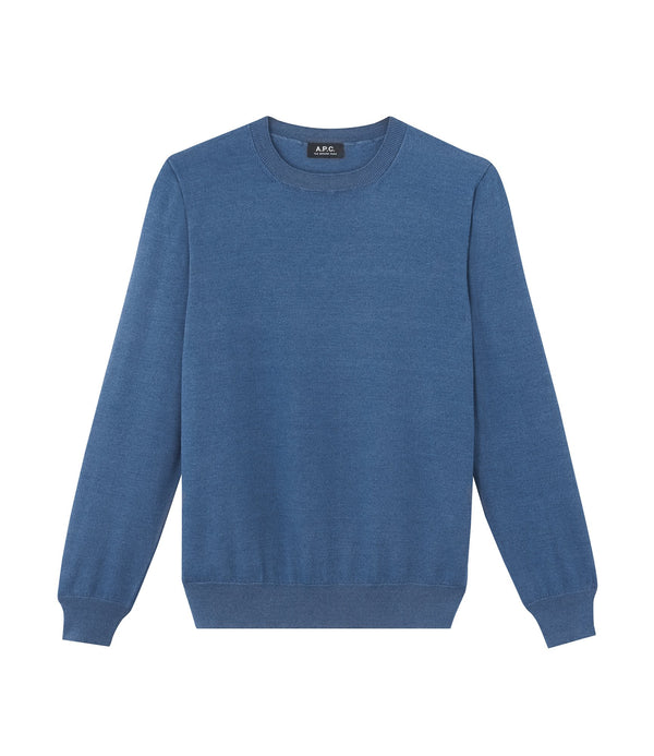 Rico sweater - IAL - Stonewashed indigo