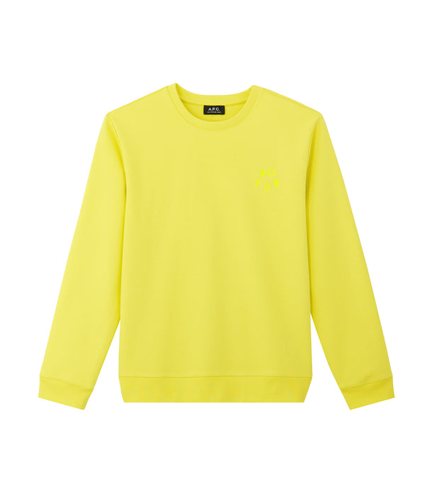 No Fun sweatshirt - DAA - Yellow