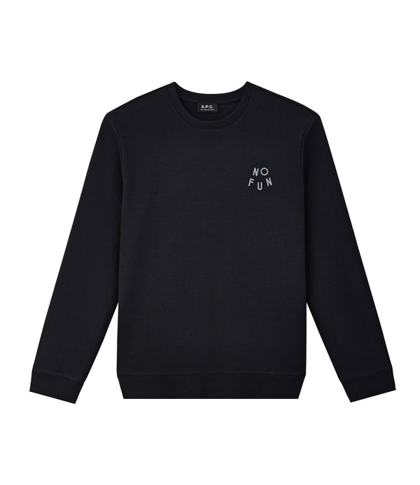 No Fun sweatshirt - LZA - Near black