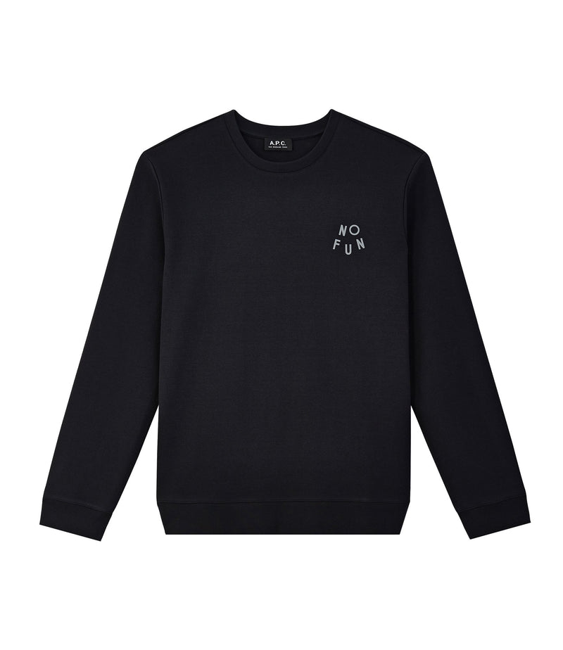 This is the No Fun sweatshirt product item. Style LZA-1 is shown.
