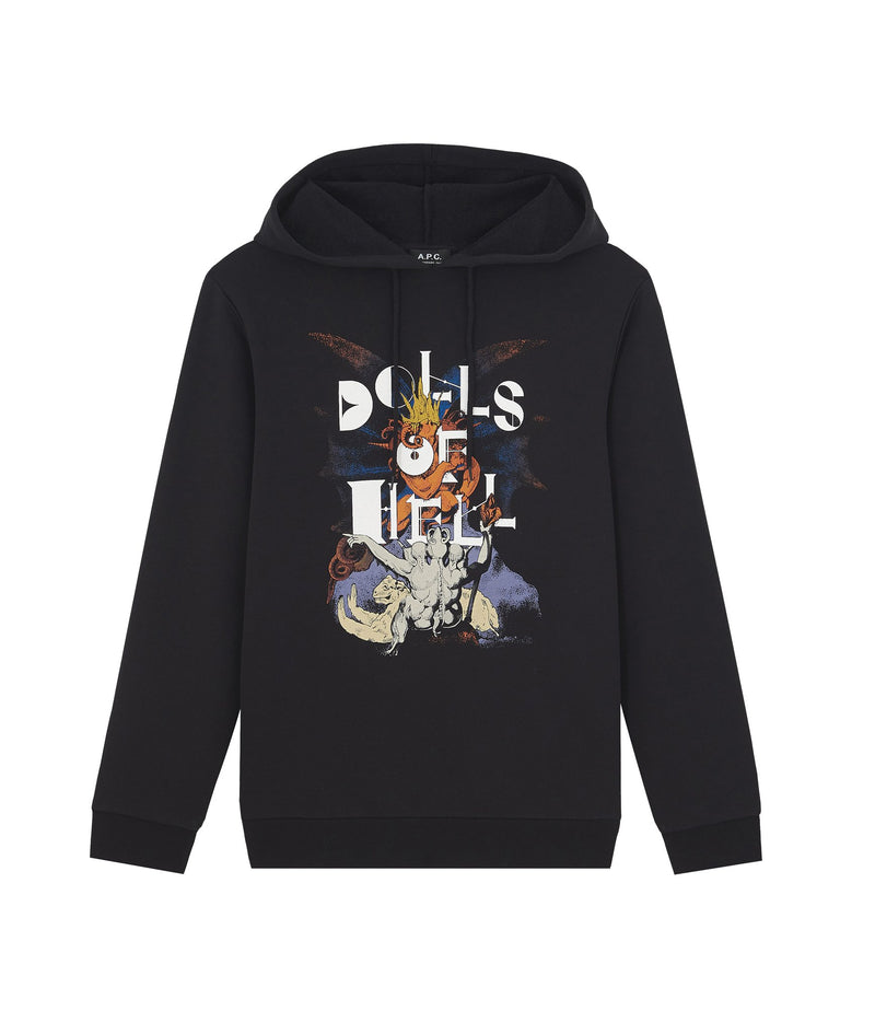 This is the Merch hoodie product item. Style LZZ-1 is shown.
