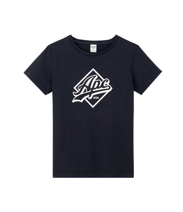 Althea T-shirt - IAK - Dark navy blue