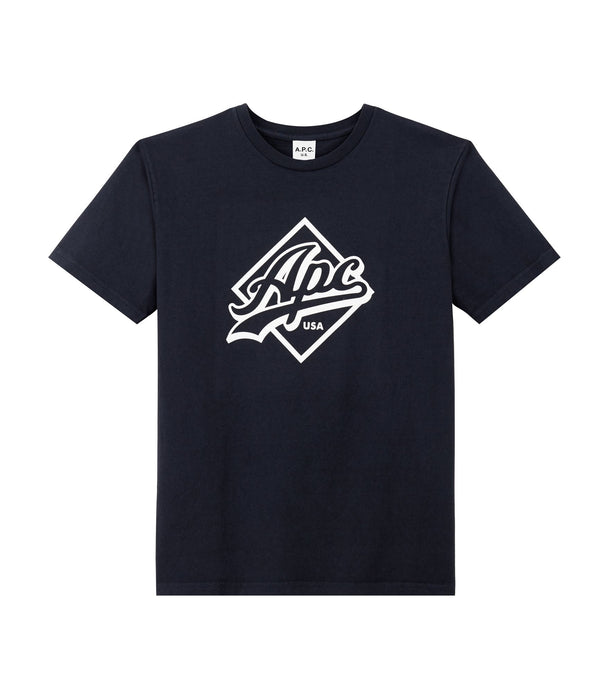 Tremaine T-shirt - IAK - Dark navy blue