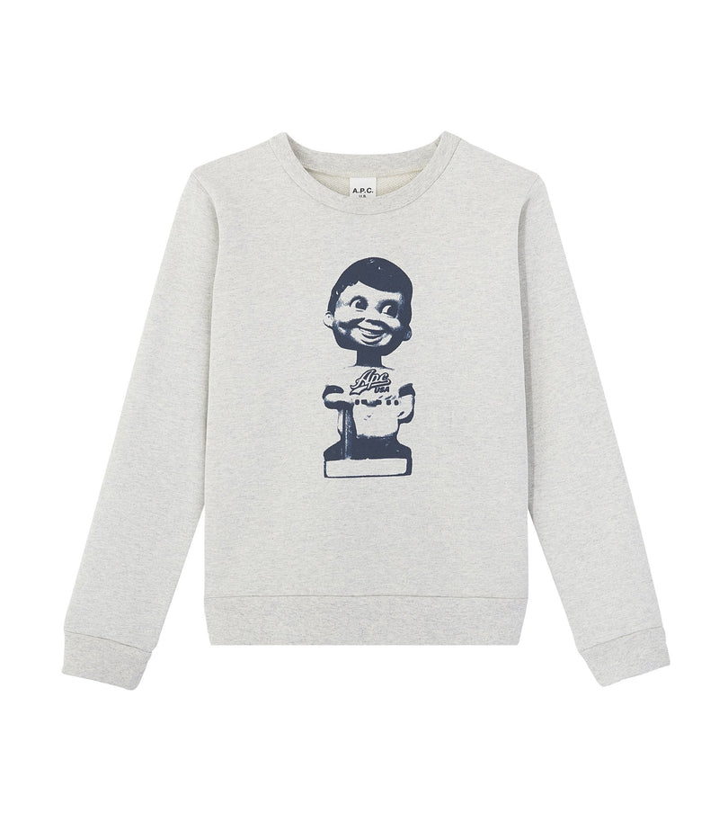 This is the Carell sweatshirt product item. Style AAD-1 is shown.