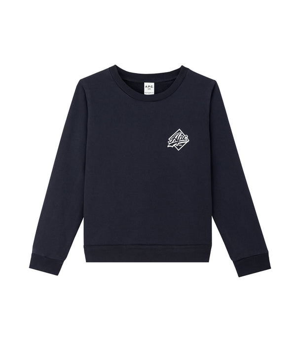 Marcella sweatshirt - IAK - Dark navy blue