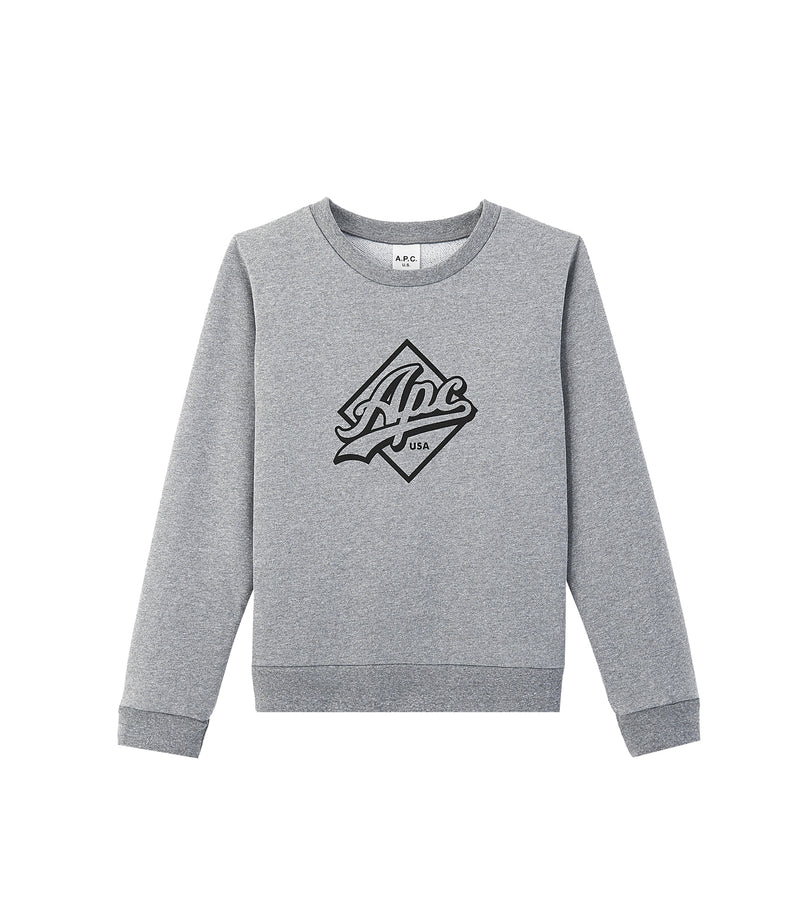 This is the Kimberley sweatshirt product item. Style LAA-1 is shown.