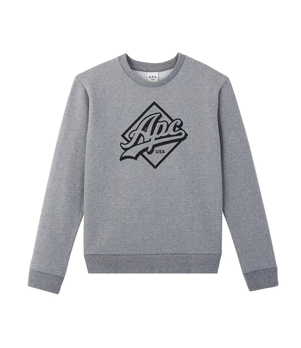 Sherman sweatshirt - LAA - Gray
