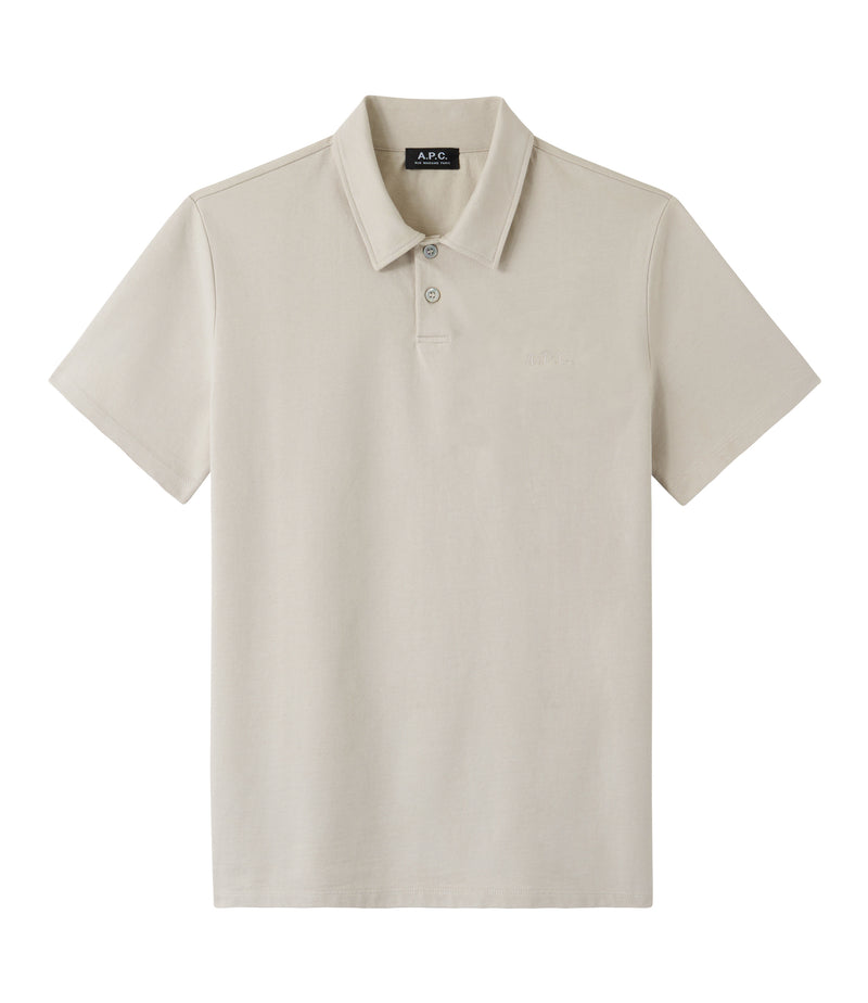 This is the Pavement polo shirt product item. Style AAE-1 is shown.