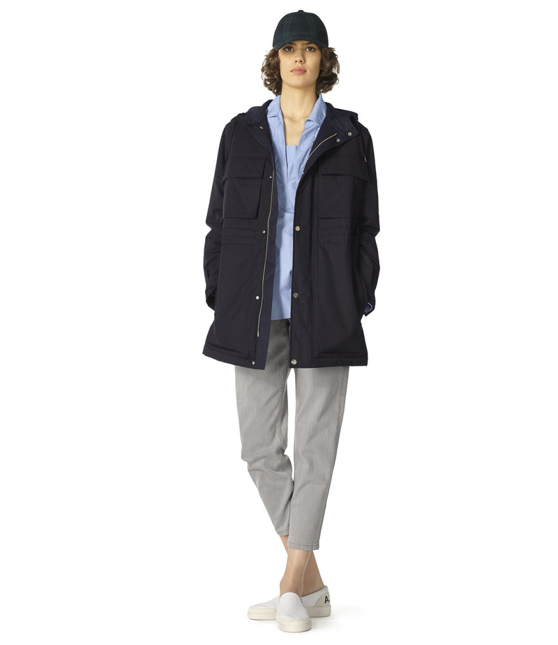 This is the Axelle parka product item. Style LZZ-2 is shown.