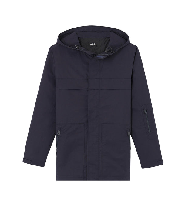 Hike parka - IAK - Dark navy blue