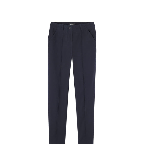 Augusta pants - IAK - Dark navy blue