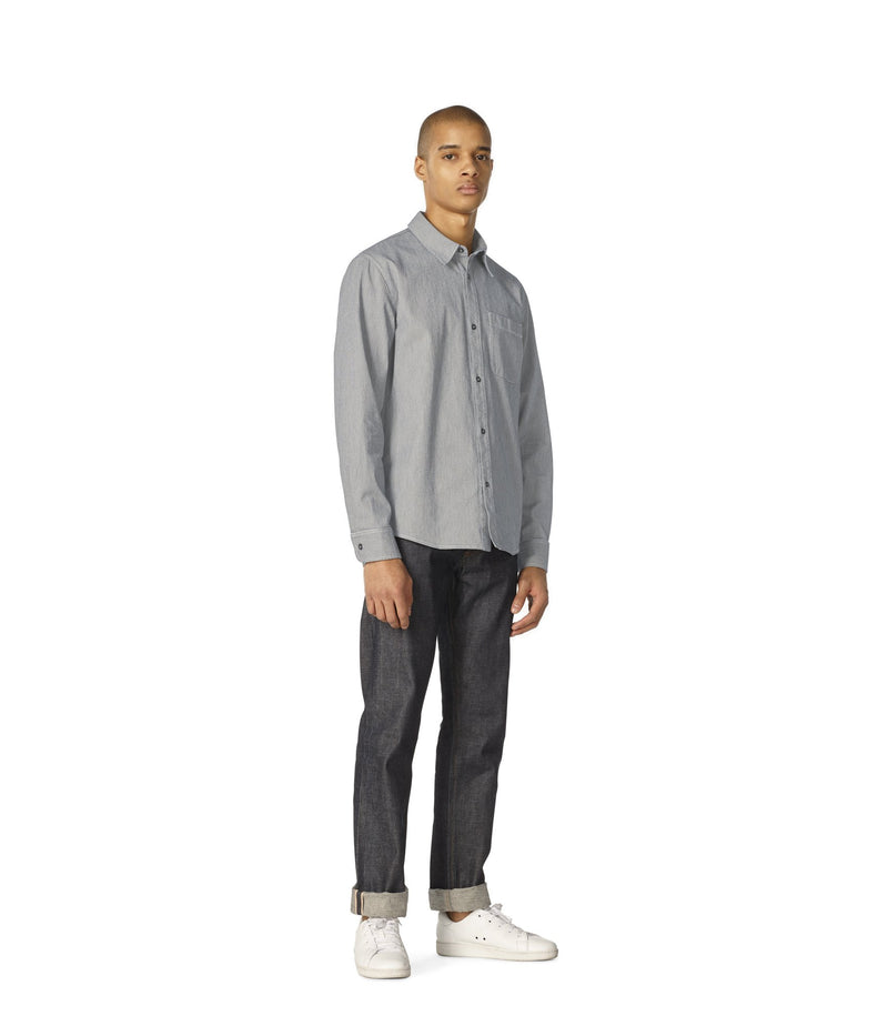 This is the Trek overshirt product item. Style LZA-2 is shown.