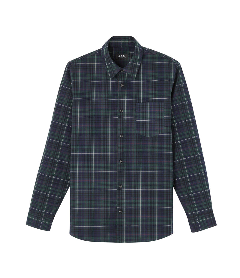 This is the Julien shirt product item. Style KAF-1 is shown.