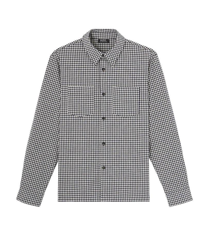 This is the Pepper overshirt product item. Style IAK-1 is shown.