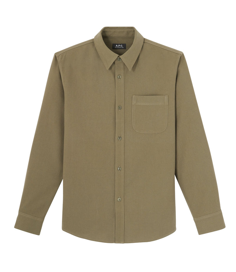 This is the Trek overshirt product item. Style JAA-1 is shown.