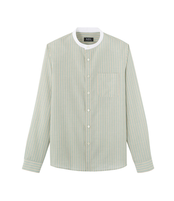 Mark shirt - KAC - Almond green