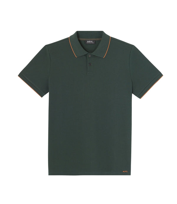 Max polo shirt - KAF - Dark green