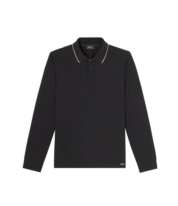 Franck polo shirt - LZZ - Black