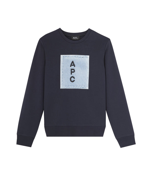 Logo sweatshirt - IAK - Dark navy blue