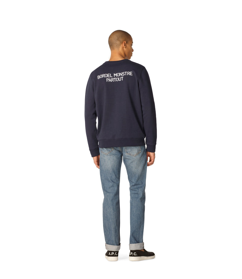 This is the Bordel Monstre sweatshirt product item. Style IAK-3 is shown.