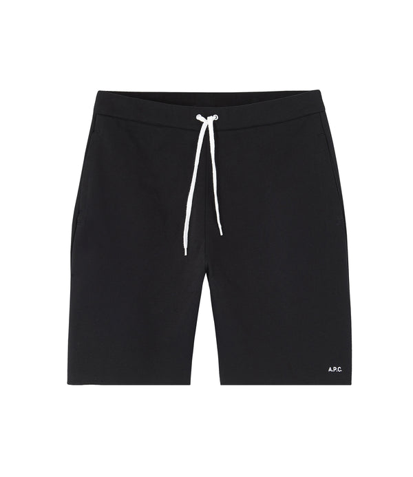 René shorts - LZZ - Black