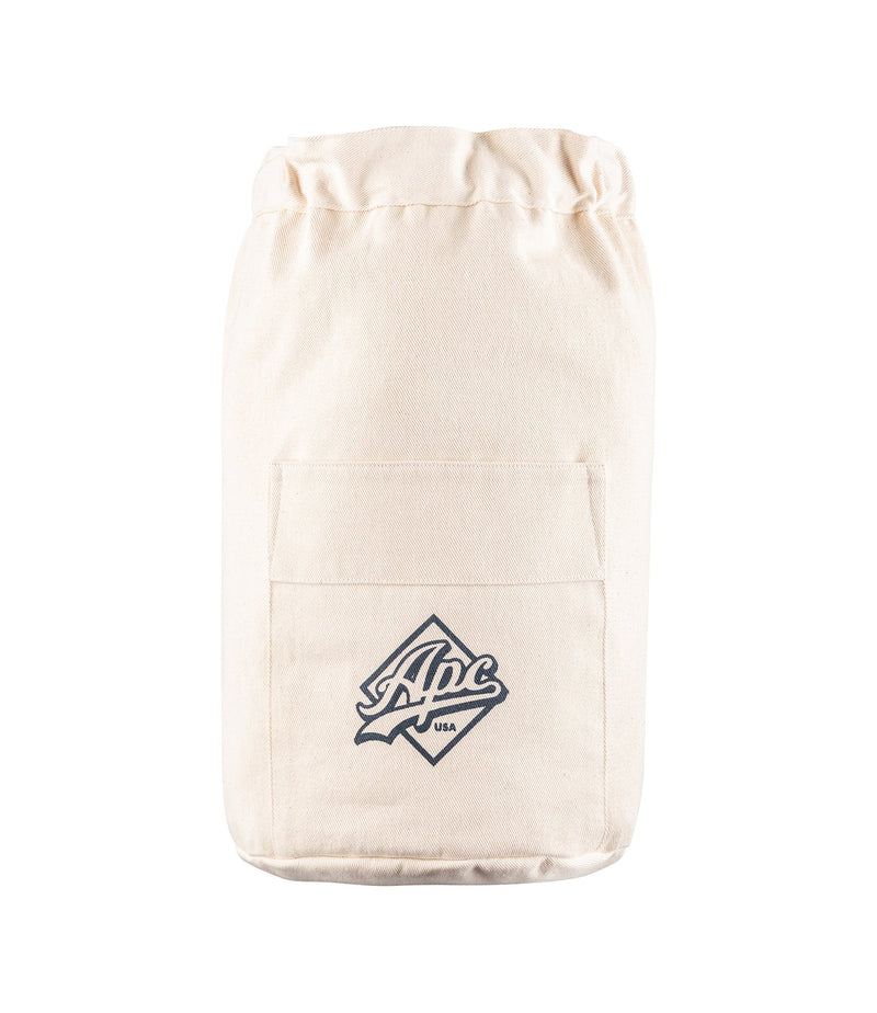 This is the A.P.C. U.S. backpack product item. Style AAD-1 is shown.