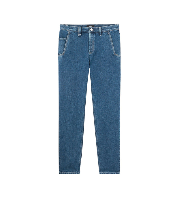 Carpenter jeans - IAL - Stonewashed indigo