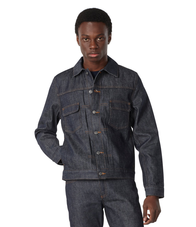 This is the Veste jean work product item. Style IAI-3 is shown.