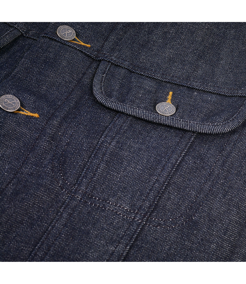 This is the Veste jean US product item. Style IAI-3 is shown.