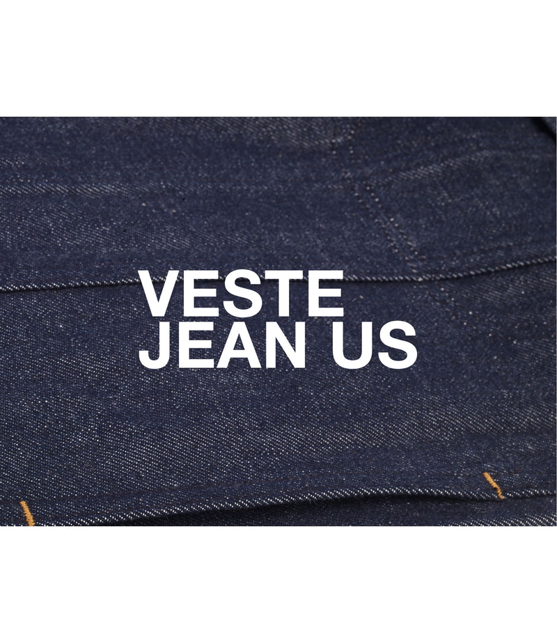 This is the Veste jean US product item. Style IAI-6 is shown.