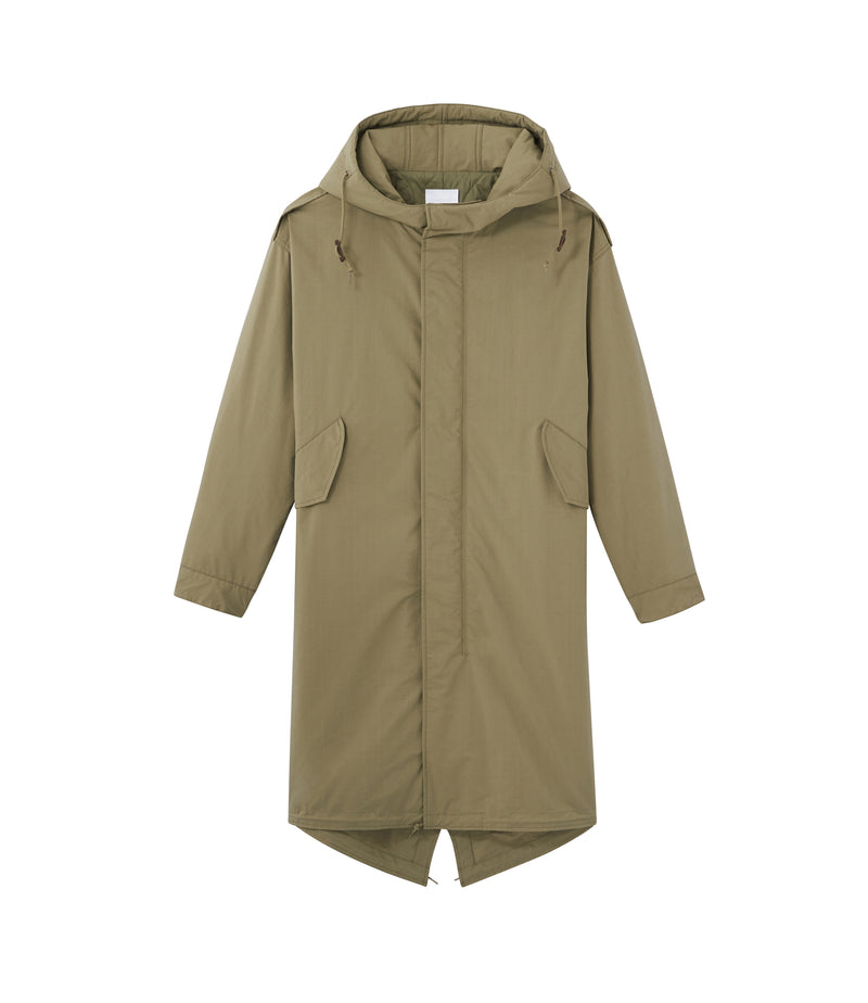 This is the Gertrude parka product item. Style JAA-1 is shown.