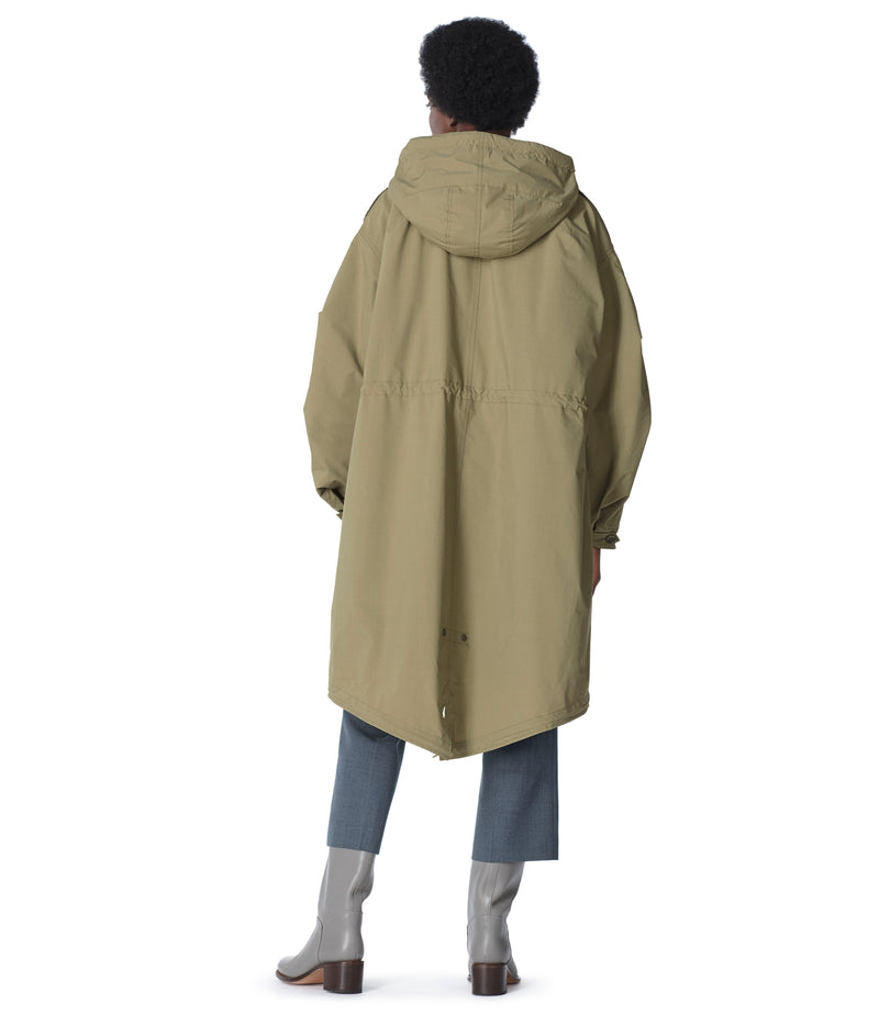 This is the Gertrude parka product item. Style JAA-3 is shown.