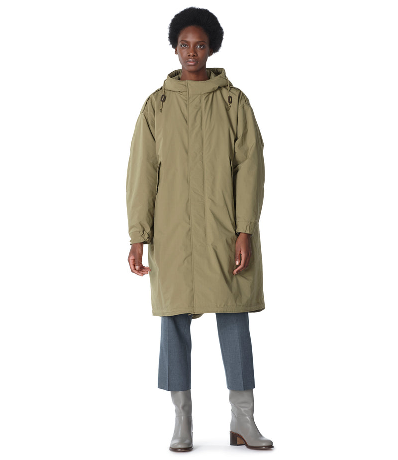 This is the Gertrude parka product item. Style JAA-2 is shown.