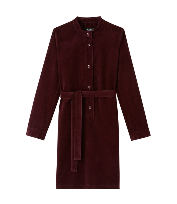 Amy dress - GAC - Burgundy